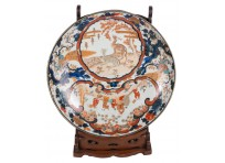 Large 19th Century Japanese Imari charger.