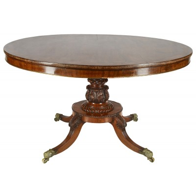 Regency period Mahogany centre table, circa 1820