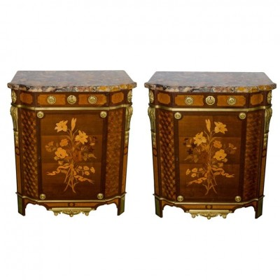 Pair of Side Cabinets by 'Linke'