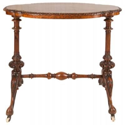 A 19th Century Victorian Walnut Table
